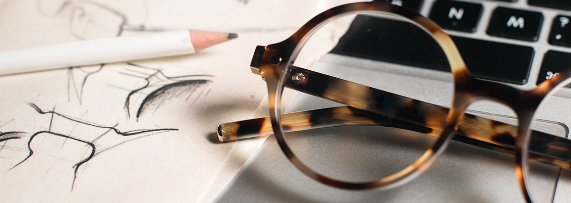 A pair of glasses